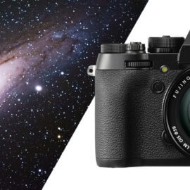Deep-sky astrophotography with a Fujifilm camera